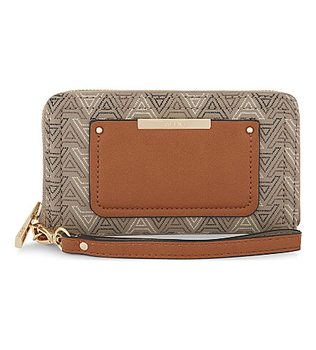ALDO Choctaw leather multi-function wallet (Taupe