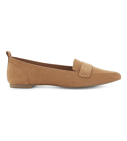 ALDO Cherryhill pointed loafers (Cognac