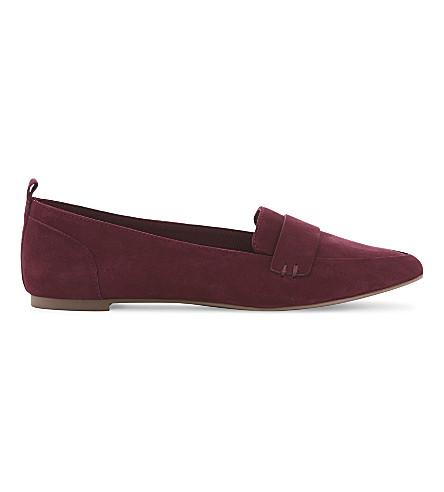 ALDO Cherryhill pointed loafers (Bordo