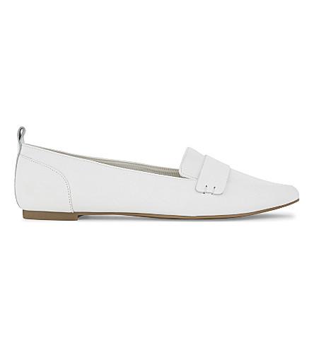 ALDO Cherryhill leather loafers (White