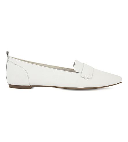 ALDO Cherryhill metallic loafers (Silver