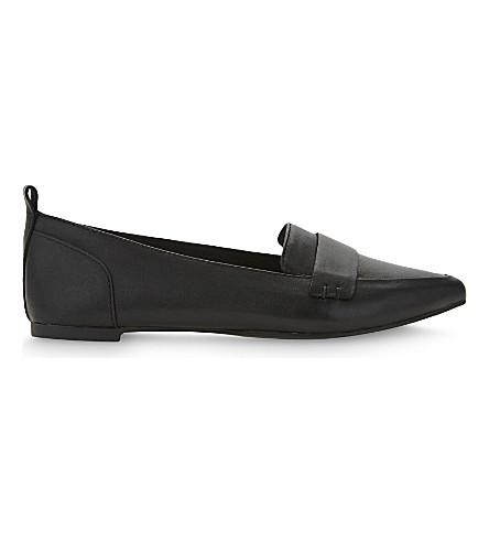 ALDO Cherryhill leather loafers (Black+leather