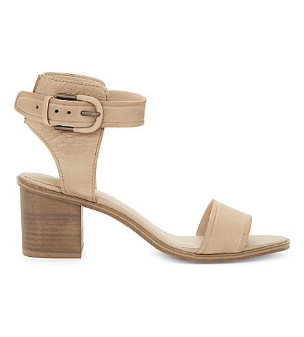 ALDO Dezi leather heeled sandals (Bone