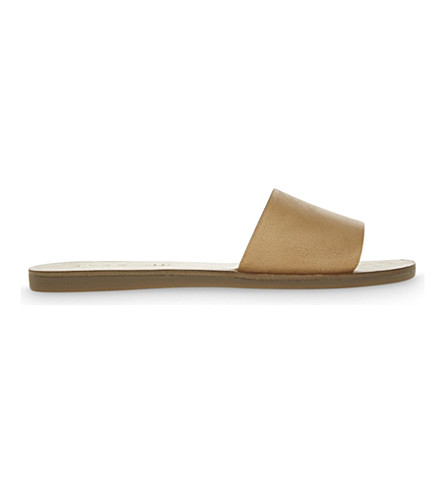 ALDO Brittny leather sandals (Cognac