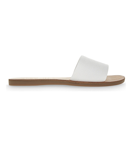 ALDO Brittny leather sandals (White