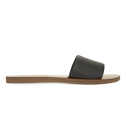 ALDO Brittny leather sandals (Black+leather
