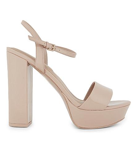 ALDO Kandie platform sandals (Light+pink