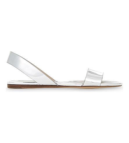 ALDO Yoana slingback sandals (Silver