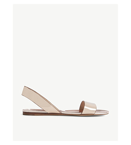 ALDO Yoana metallic flat sandals (Metallic+miscellaneous