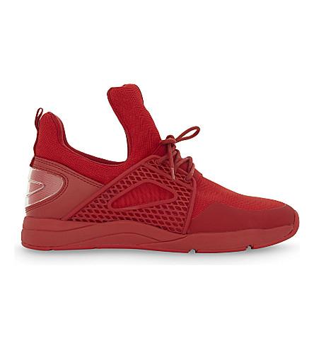 ALDO Zeaven high-top trainers (Red