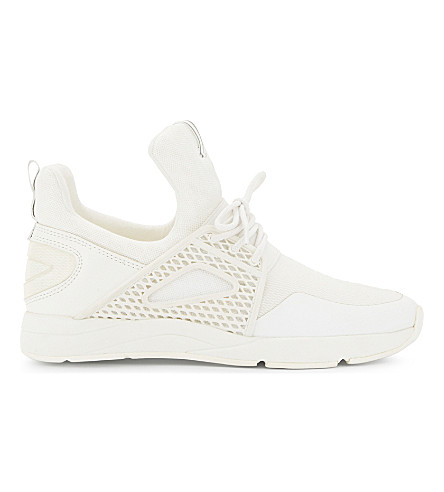 ALDO Zeaven high-top trainers (White