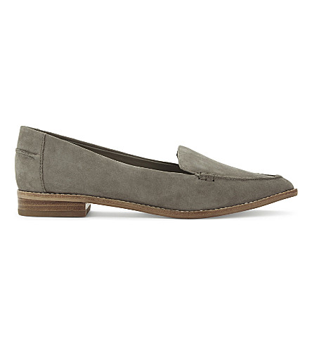 ALDO Clarencea 麂皮绒便鞋 (褐色