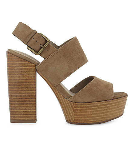 ALDO Maximoa suede platform sandals (Taupe