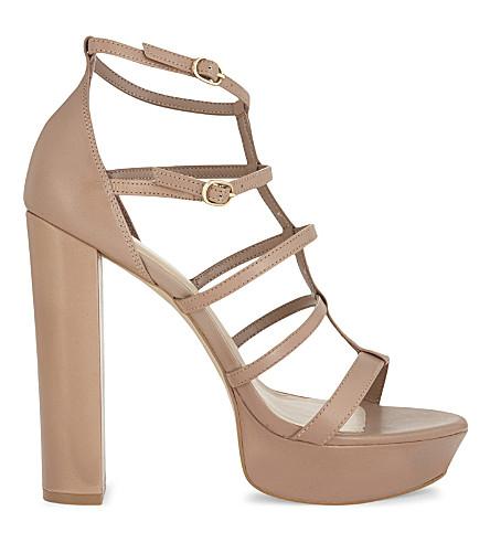 ALDO Elyni platform sandal (Beige
