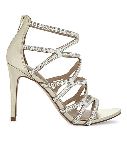 ALDO Liah embellished heeled sandals (Gold