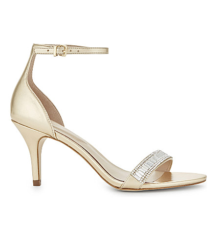 ALDO Kaylla embellished heeled sandals (Gold