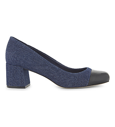ALDO Bellone denim block heels (Denim