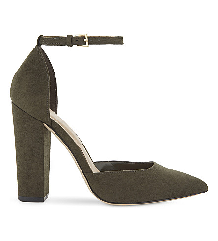 ALDO Nicholes heeled sandals (Forest+green