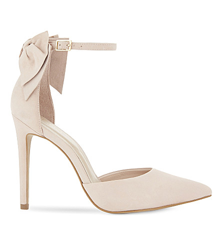 ALDO Quelina suede heeled sandals (Light+pink