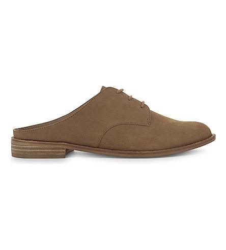 ALDO Milanino suede sandals (Cognac