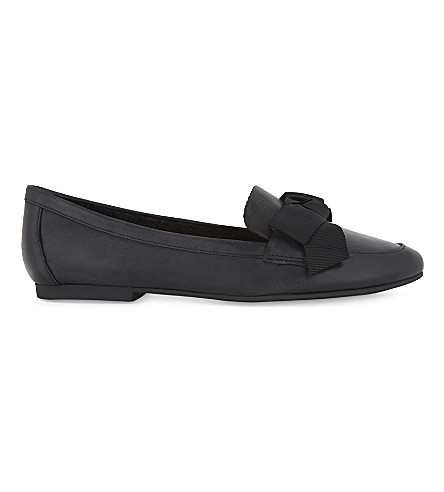 ALDO Rosolen leather loafers (Black+leather