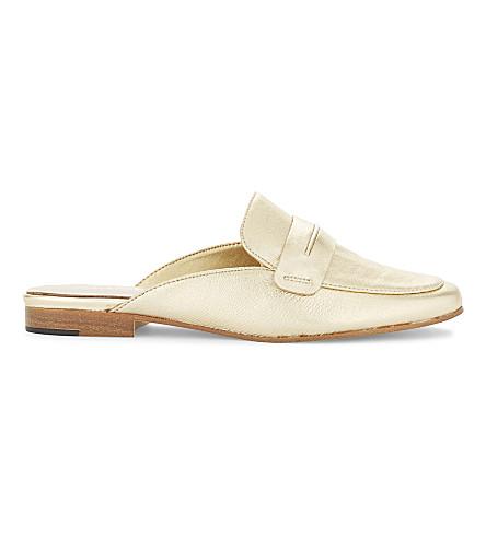ALDO Shahan slip-on loafers (Gold