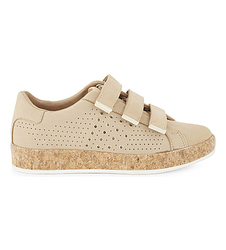 ALDO Cillan leather flatform trainers (Bone
