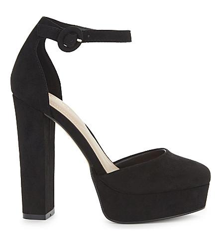ALDO Nici suede heeled sandals (Black
