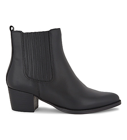 ALDO Tatianna pointed Chelsea boots (Black+leather