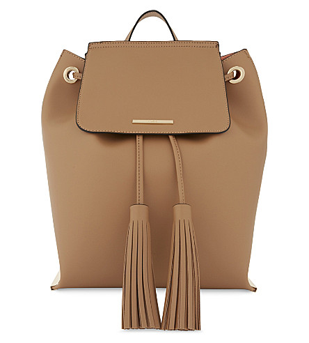 ALDO Asirawia leather backpack (Camel