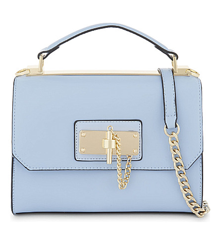 ALDO Kaireda faux-leather cross-body bag (Medium+blue