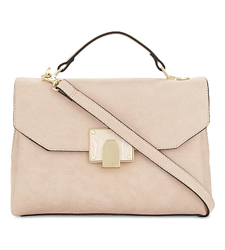 ALDO Pirewien faux-leather cross-body bag (Light+pink