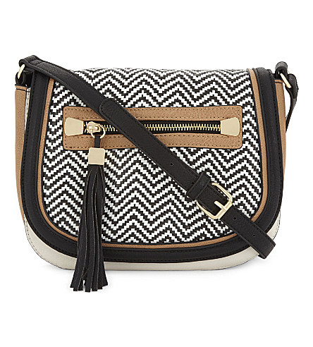 ALDO Piedigrotta cross-body bag (Black+miscellaneous