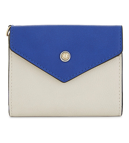 ALDO Athos faux-leather wallet (Medium+blue