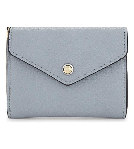 ALDO Athos grained purse (Light+blue