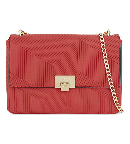ALDO Fair faux-leather cross-body bag (Red
