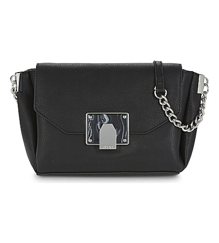 ALDO Nanymo faux-leather cross-body bag (Black