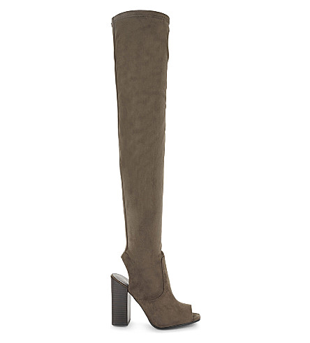 ALDO Winker over-the-knee boots (Taupe