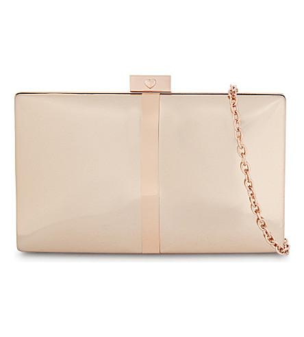 ALDO 皮尔逊金属手拿包 (粉红色 + 杂项