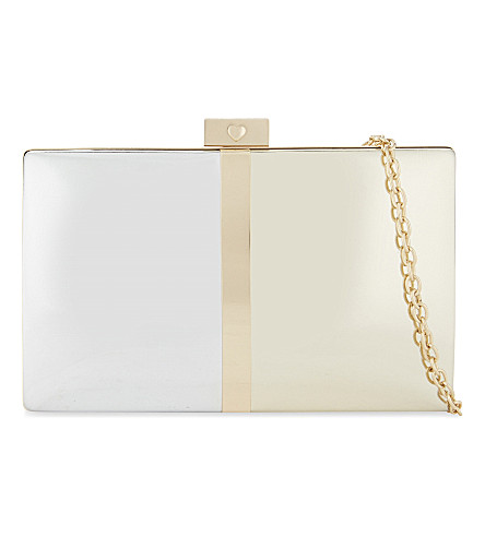 ALDO Pearson cross-body bag (Metallic+miscellaneous