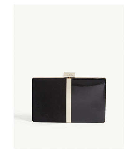 ALDO 皮尔逊袋 (黑色 + 麂皮绒