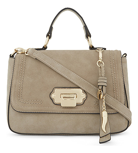 ALDO Carrulo suede shoulder bag (Taupe