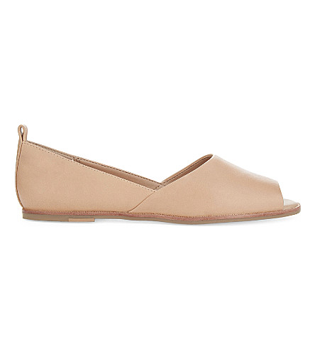 ALDO Chiarella leather ballet flats (Pink+miscellaneous