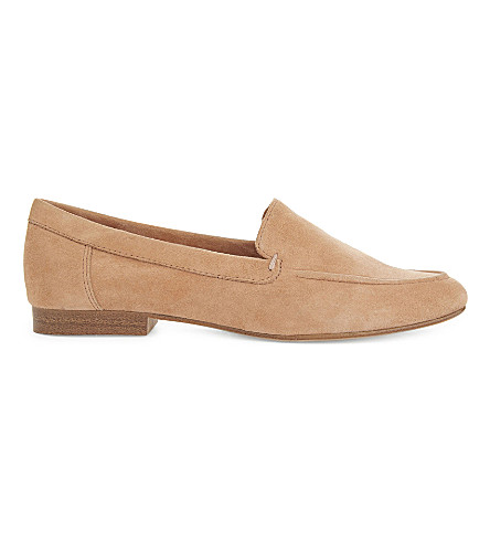 ALDO Joeya suede loafers (Medium+brown