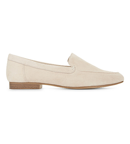 ALDO Joeya suede loafers (Peach