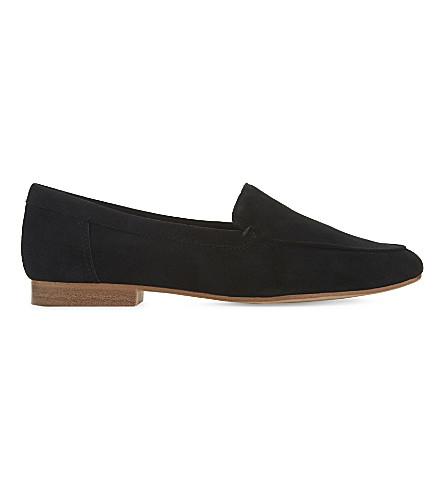 ALDO Joeya suede loafers (Black+suede