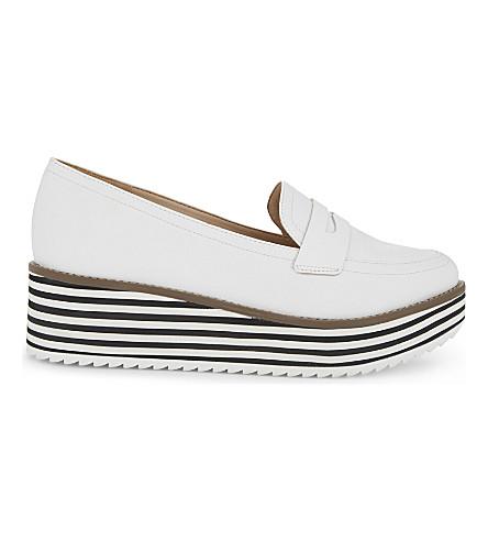 ALDO Candioni flatform loafers (White