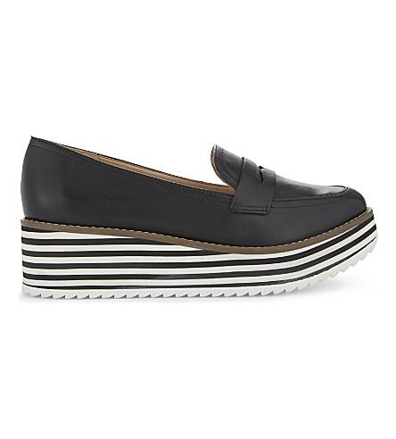 ALDO Candioni flatform loafers (Black+leather