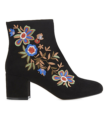ALDO Kettleson heeled ankle boots (Black