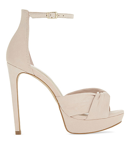 ALDO Ameline leather heeled sandals (Light+pink